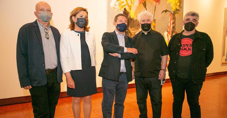 El Gobierno de Castilla-La Mancha retoma la agenda de grandes exposiciones con la inauguración de la muestra 'Pintura', de los artistas Jorge Galindo y Pedro Almodóvar