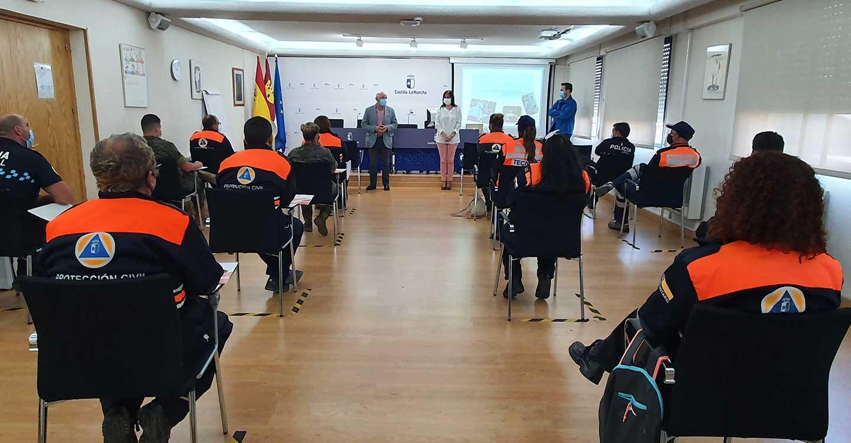 El Gobierno regional formará en 2021 a 3.365 efectivos del Sistema Nacional de Protección Civil, en un total de 146 cursos