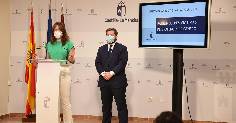 El Gobierno de Castilla-La Mancha aumentará las ayudas de alquiler dirigidas a mujeres víctimas de violencia de género, abiertas permanentemente y que se podrán pagar por anticipado