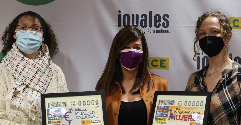 El Gobierno regional colabora con la ONCE en su tarea de reivindicación de la igualdad salarial entre mujeres y hombres