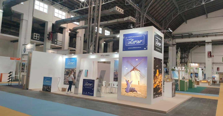 El Gobierno de Castilla-La Mancha intensifica la promoción de su oferta turística de interior en las ferias sectoriales de Valladolid y Barcelona