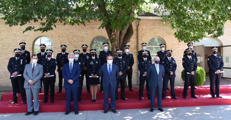 El Gobierno de Castilla-La Mancha modificará las pruebas selectivas a las distintas categorías de Policía Local para simplificar el proceso de incorporación a este Cuerpo