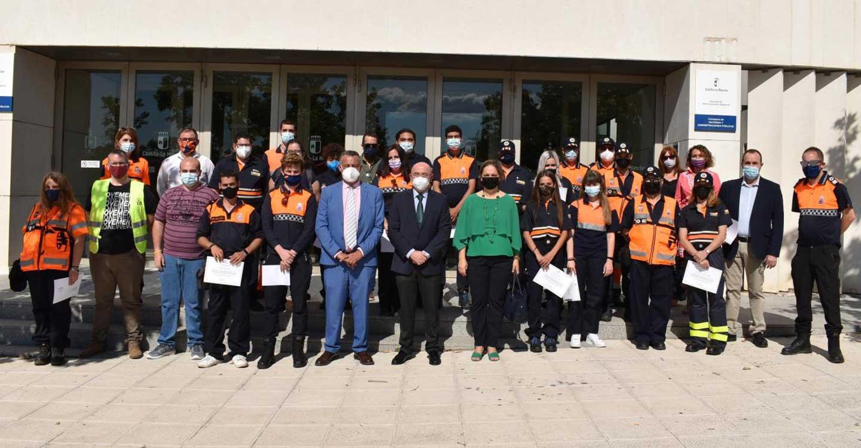 El Gobierno de Castilla-La Mancha ofertará este año 67 cursos de formación a integrantes de Protección Civil, con más de 1.700 plazas