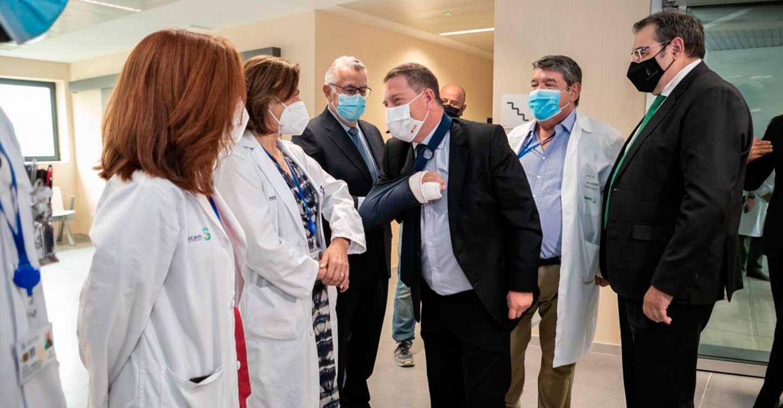El Gobierno de Castilla-La Mancha pone en marcha el servicio de Oncología Radioterápica en el nuevo Hospital de Toledo