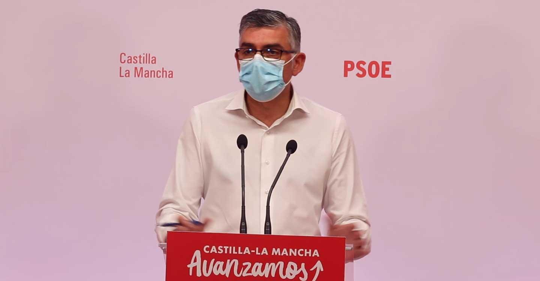 """El PSOE critica al PP por no reconocer la realidad de la vacunación: """"Le molesta que la vacunación vaya bien, que las cosas vayan bien en CLM"""""""