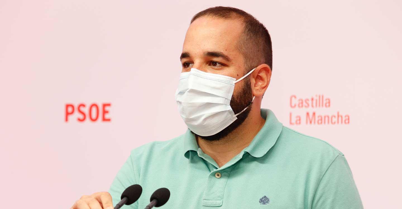 """González critica la estrategia del PP de CLM: """"Bulo que se desmiente, bulo que vuelven a crear"""""""