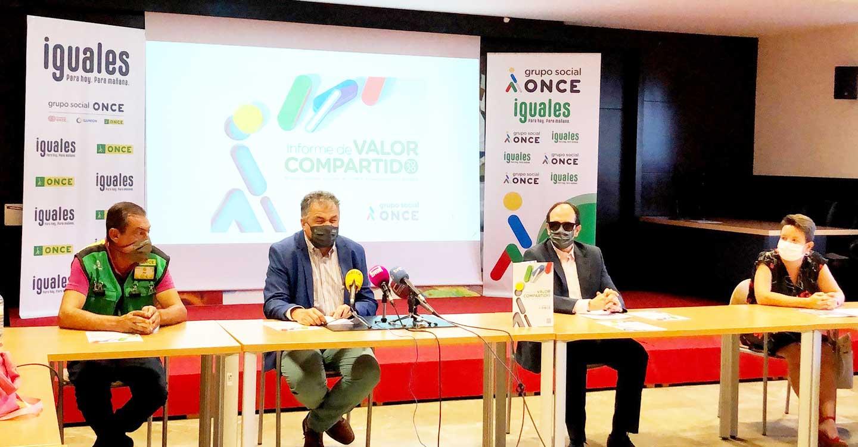 El Grupo Social ONCE firmó 3.433 contratos indefinidos en 2020, 209 en Castilla-La Mancha, y mantuvo su cobertura social
