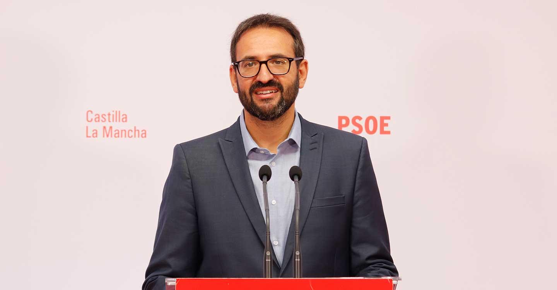 """Gutiérrez insta a Núñez a visitar el Tajo con Casado y preguntarle """"dónde ve el agua que sobra para trasvasar a Murcia"""""""