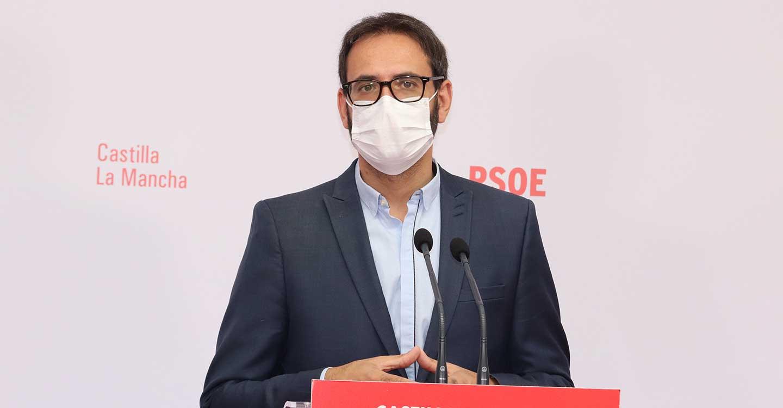 """Gutiérrez: """"El tiempo sienta mal al PP, convierte a Paco Núñez en Paco Bulos"""""""