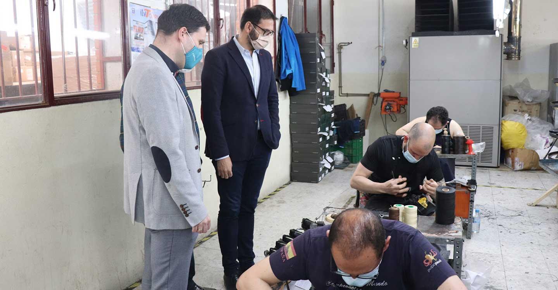 """Gutiérrez: """"Ponemos al sector del calzado al mismo nivel de ayudas que las que están teniendo las empresas en Alemania"""""""