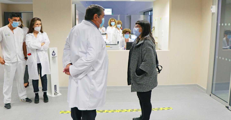 El Hospital Universitario de Toledo comienza a recibir a sus primeros pacientes