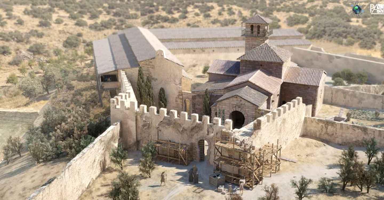 Leyendas de Castilla-La Mancha: La iglesia de Santa María de Melque