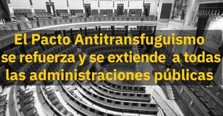 IU CLM pide al resto de fuerzas políticas que se adhieran públicamente a la actualización y refuerzo del Pacto Antitransfuguismo