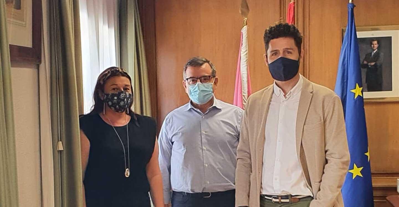 Izquierda Unida se reúne con el Subdelegado del Gobierno de España en Toledo.