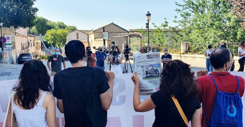 Izquierda Unida sigue apoyando a los y las trabajadoras de La Tribuna de Toledo