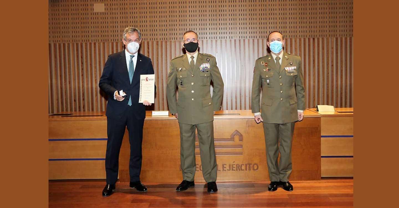 El presidente de Eurocaja Rural, nuevo 'Embajador de la Marca Ejército'