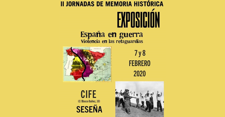 Seseña acogerá las II Jornadas sobre Memoria Histórica el 7 y 8 de febrero