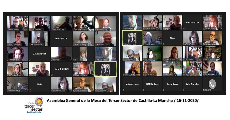 José Antonio Romero, elegido nuevo presidente de la Mesa del Tercer Sector de Castilla-La Mancha