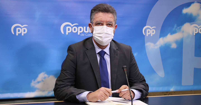 """Moreno: """"Page siempre tendrá en su triste currículum ser el único presidente que con un hospital nuevo no lo ha puesto a disposición de los pacientes de coronavirus"""""""