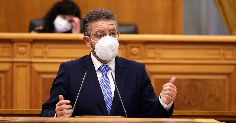 Moreno acusa al Gobierno de Page de `falta de transparencia´ en el Plan de vacunación y exige que lo dé a conocer con `luz y taquígrafos´