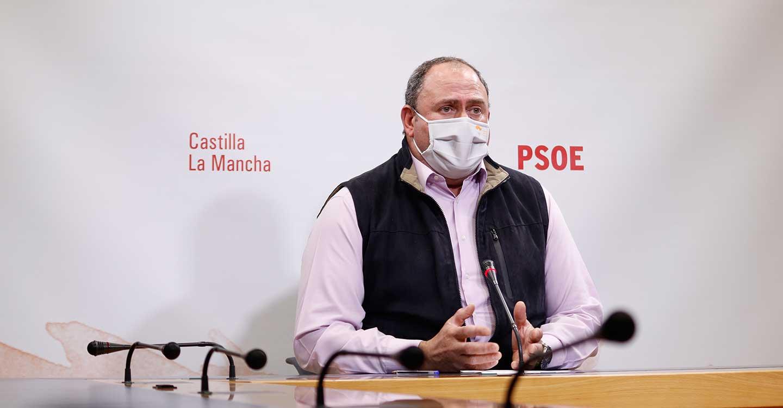 Martínez subraya las ayudas del Gobierno de Page de hasta 12.000 euros para los olivicultores afectados por 'Filomena' y critica las mentiras del PP