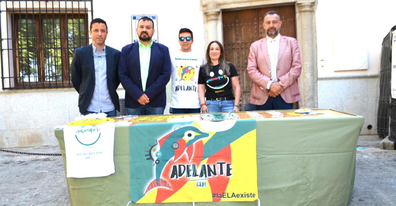 La Diputación de Toledo se suma a los actos del Día Mundial de la ELA iluminando su fachada de verde todo el fin de semana