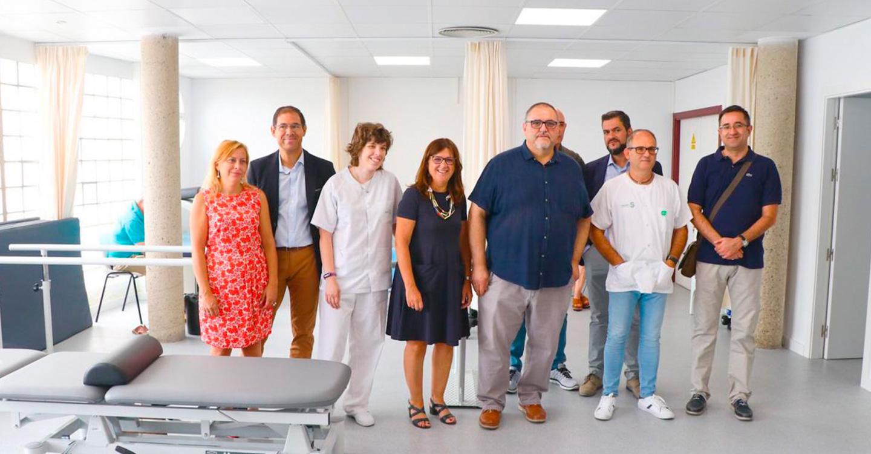 La directora gerente del SESCAM ha visitado hoy las instalaciones junto al alcalde