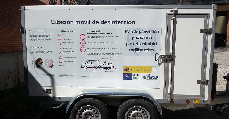 La Confederación Hidrográfica del Tajo operará una estación de limpieza de embarcaciones en el Campeonato de España de Media Maratón de Piragüismo en Talavera de la Reina