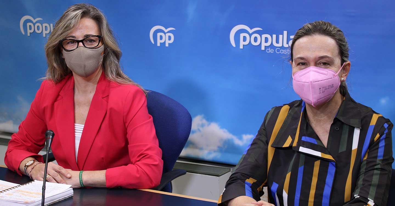 """Merino denuncia la actitud """"caciquil"""" de Page y Bellido, que están impidiendo la actividad parlamentaria en las Cortes de CLM"""