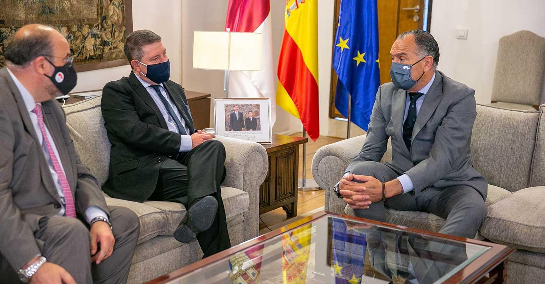 López Carrizo traslada al Gobierno de Castilla-La Mancha los proyectos para el crecimiento industrial de Tarancón