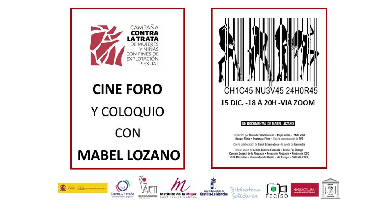 Mabel Lozano y sus documentales 'Chicas nuevas 24 horas' y 'El Proxeneta' protagonizarán el ciclo de cine de la campaña contra la trata de la Asociación AIETI