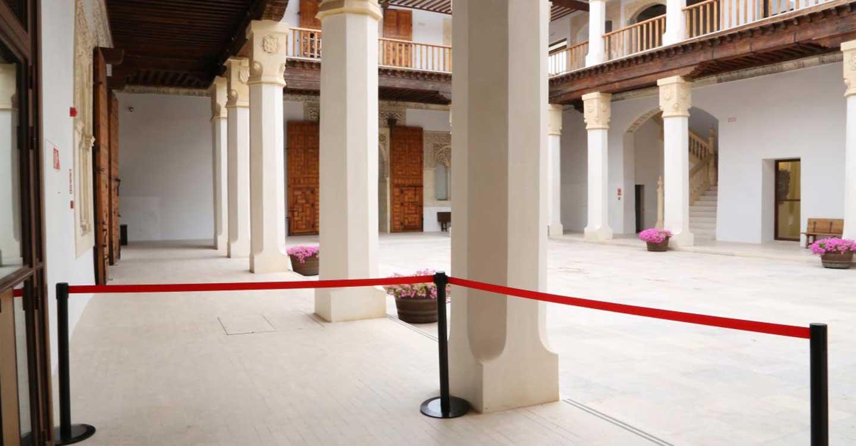 Más de 4.200 personas han visitado el Palacio de Fuensalida desde que en agosto de 2015 reabriese sus puertas al público