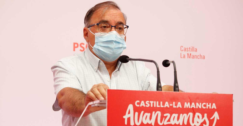 """Mora critica que Núñez """"aplauda"""" las declaraciones de Casado a favor del trasvase Tajo-Segura en vez de afearle su posición"""