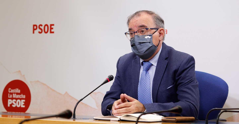"""Mora exige a Núñez que """"no se esconda"""": """"Ese Pacto del Agua, que firmamos todos, él lo ha roto y no dice nada"""""""