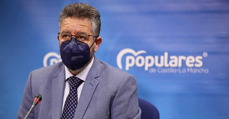 """Moreno denuncia la decadencia de Page como presidente de Castilla-La Mancha: """"Vive alejado de las verdaderas necesidades de esta tierra"""""""