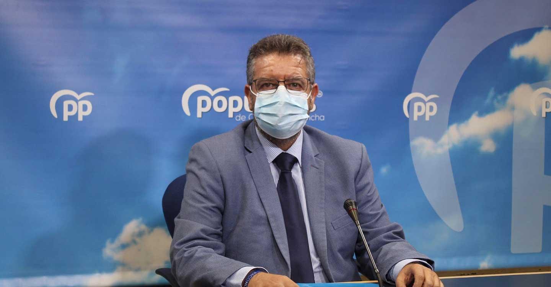 """Moreno lamenta el `circo mediático´ de Page y Sánchez y exige """"rigor y seriedad"""" a la hora de ofrecer datos sobre el porcentaje de población vacunada"""