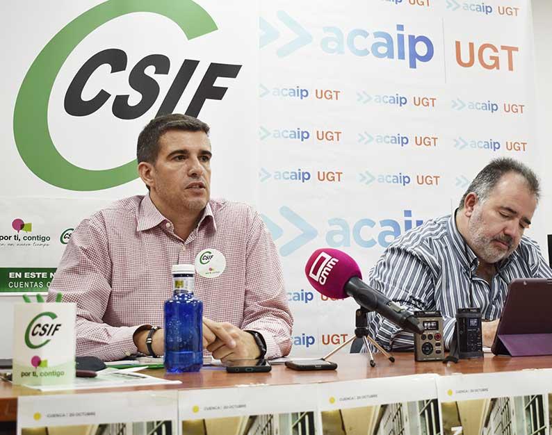 Movilización nacional de CSIF y ACAIP-UGT para exigir la aprobación de la Ley de Función Pública penitenciaria
