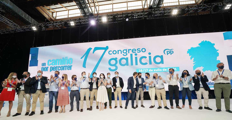"""Núñez felicita a Feijóo por su reelección y señala que el PP es la única alternativa """"sensata y real"""" a los gobiernos de Sánchez y Page"""