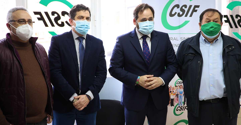 Núñez pide a Page que sea humilde y escuche a los profesionales de la Sanidad para conocer la realidad de lo que está sucediendo en los hospitales de la región