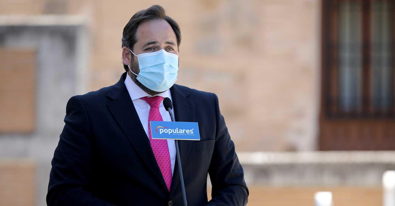 Núñez reta a Page a convocar elecciones para que los castellano-manchegos decidan qué políticas quieren para la región