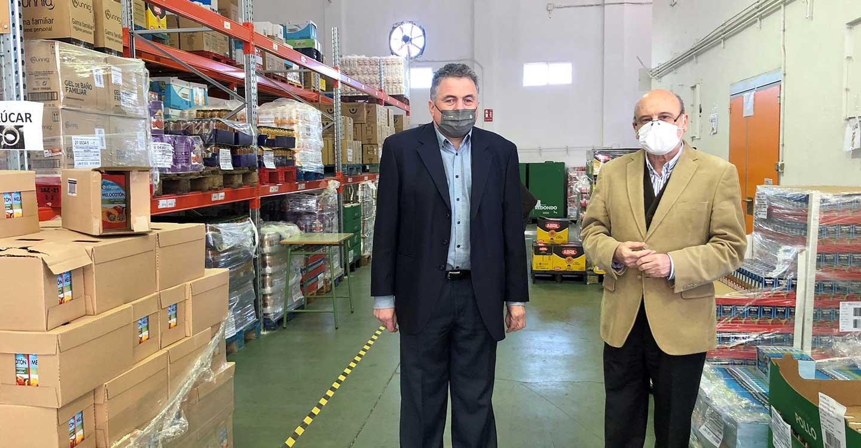 La familia del Grupo Social ONCE en Castilla-La Mancha se suma y logra el reto de donar 9.037 kilos de alimentos contra la pandemia