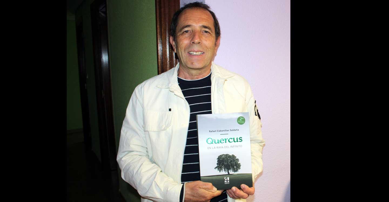 La ONCE convertirá la exitosa novela 'Quercus', de Rafael Cabanillas, en un audiolibro para invidentes de España y del mundo