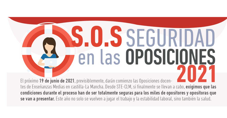 Oposiciones 2021: STE-CLM solicita la NO OBLIGATORIEDAD de presentarse a las Oposiciones docentes en Castilla-La Mancha para permanecer en bolsa de trabajo