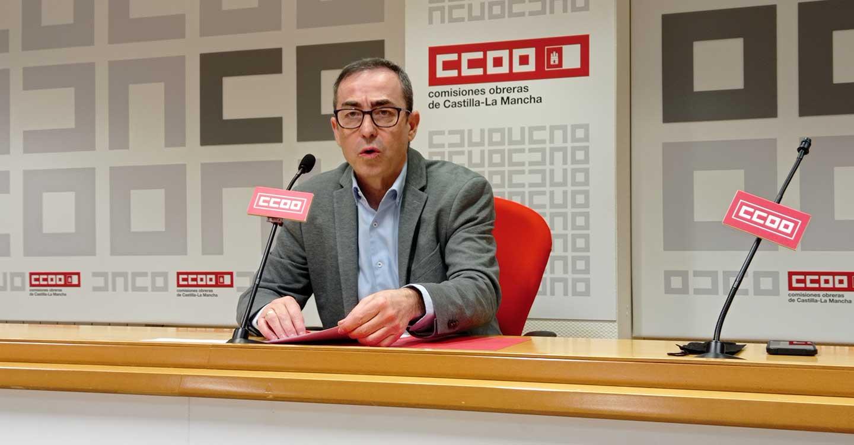 """Paco de la Rosa presentará su candidatura a un segundo mandato como secretario general de CCOO CLM bajo la premisa de """"trabajar para cambiar las cosas"""""""