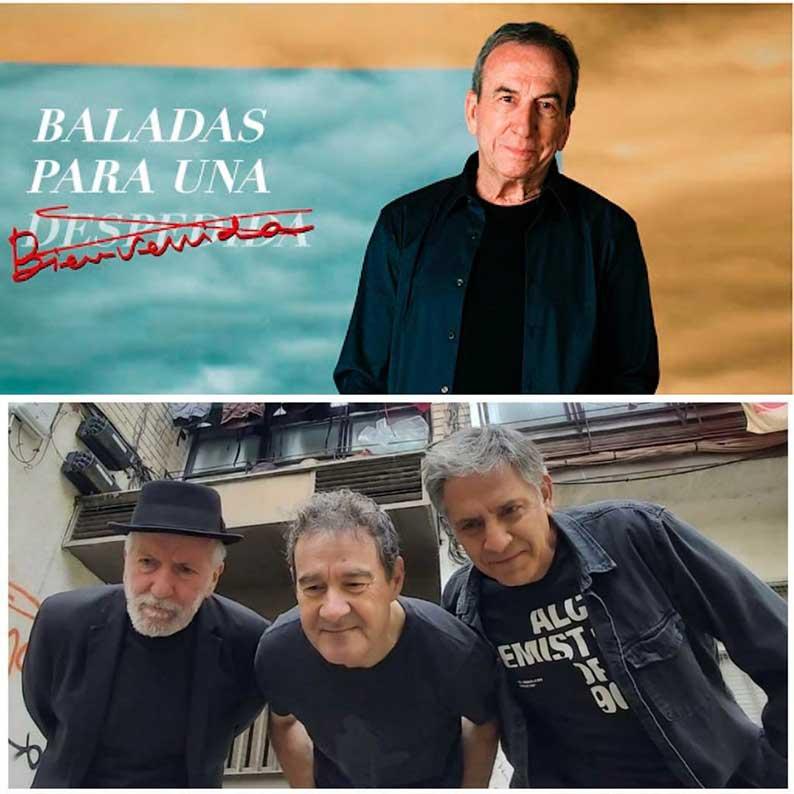 José Luis Perales y Pancho Varona y Viceversa, propuestas musicales de la Feria de Toledo para este lunes