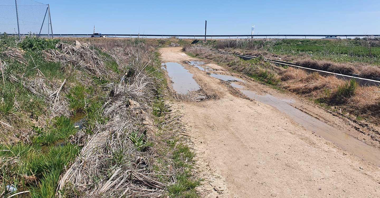 Izquierda Unida Podemos Mocejón advierte sobre la perdida de agua en el riego para agricultura
