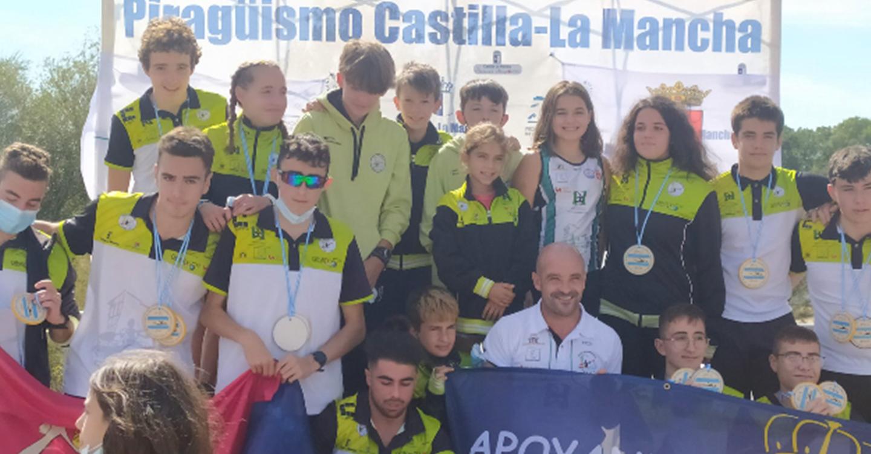 El Club Piragüismo Cuenca con Carácter finaliza la temporada en el Trofeo de Ferias en Talavera