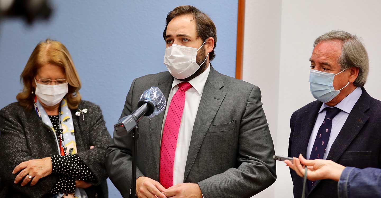 Núñez avanza que el PP-CLM va a iniciar la elaboración del Plan de Rescate para familias y empresas a través de una ronda de contactos con el sector productivo de la región