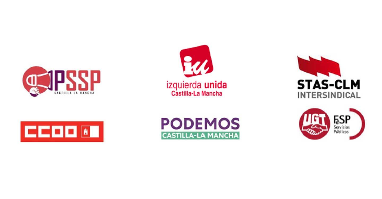 La Plataforma por los Servicios Sociales Públicos (PSSP), Izquierda Unida, STAS, CCOO, Podemos y UGT deciden crear un frente común en defensa del Sistema Público de Servicios Sociales en Castilla-La Mancha