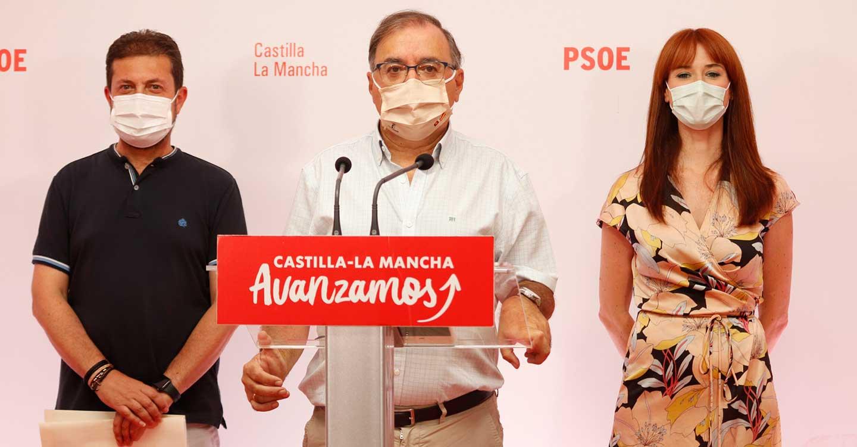 """El PSOE presenta una PNL sobre el trasvase y pide """"unidad"""" al PP de Núñez en defensa de los intereses del agua para CLM: """"No queremos evasivas"""""""